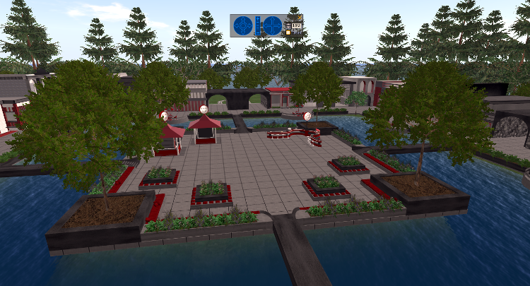 Screenshot of the new Welcome Center region